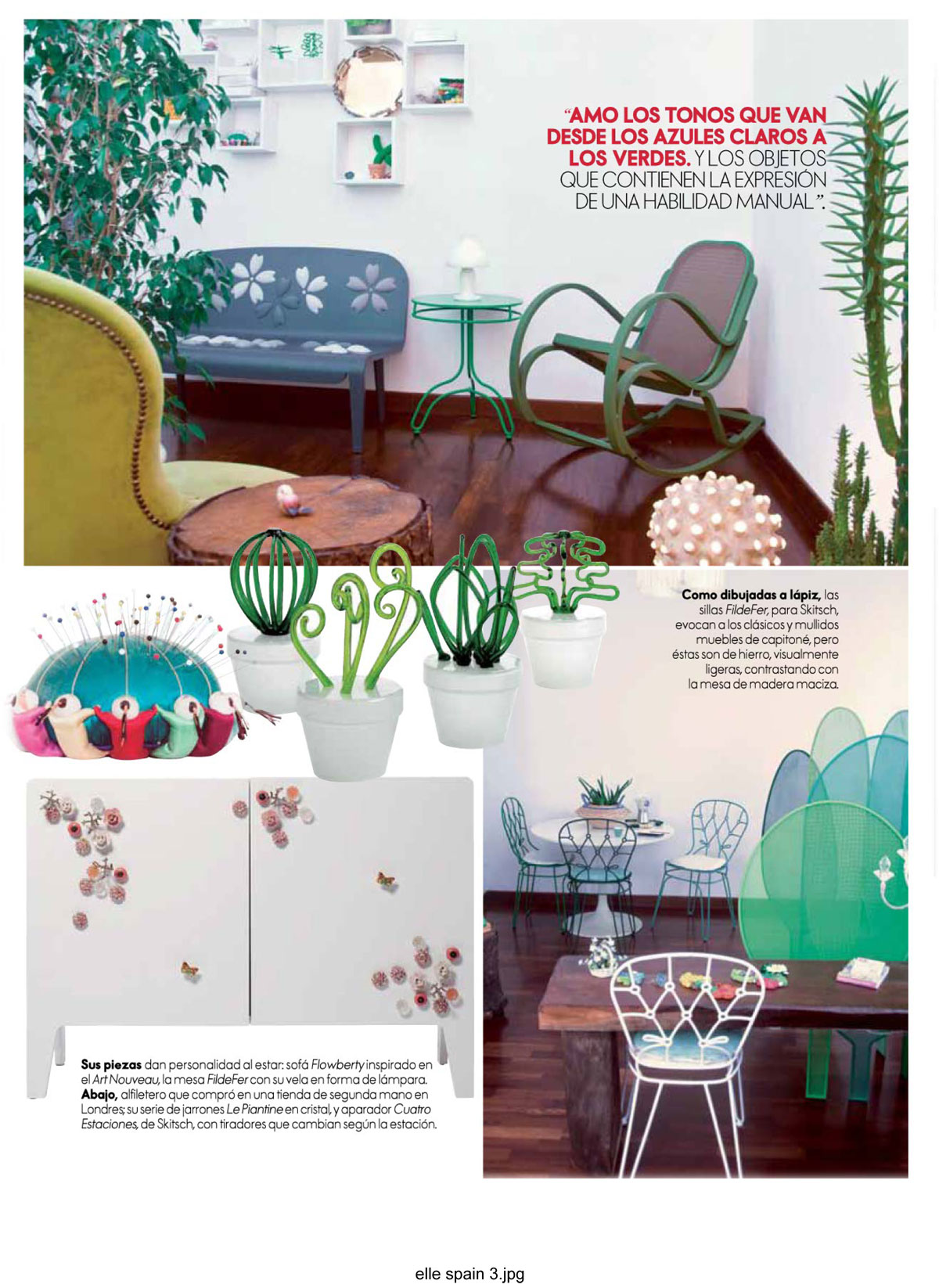 Elle Decor Spain 2015 2